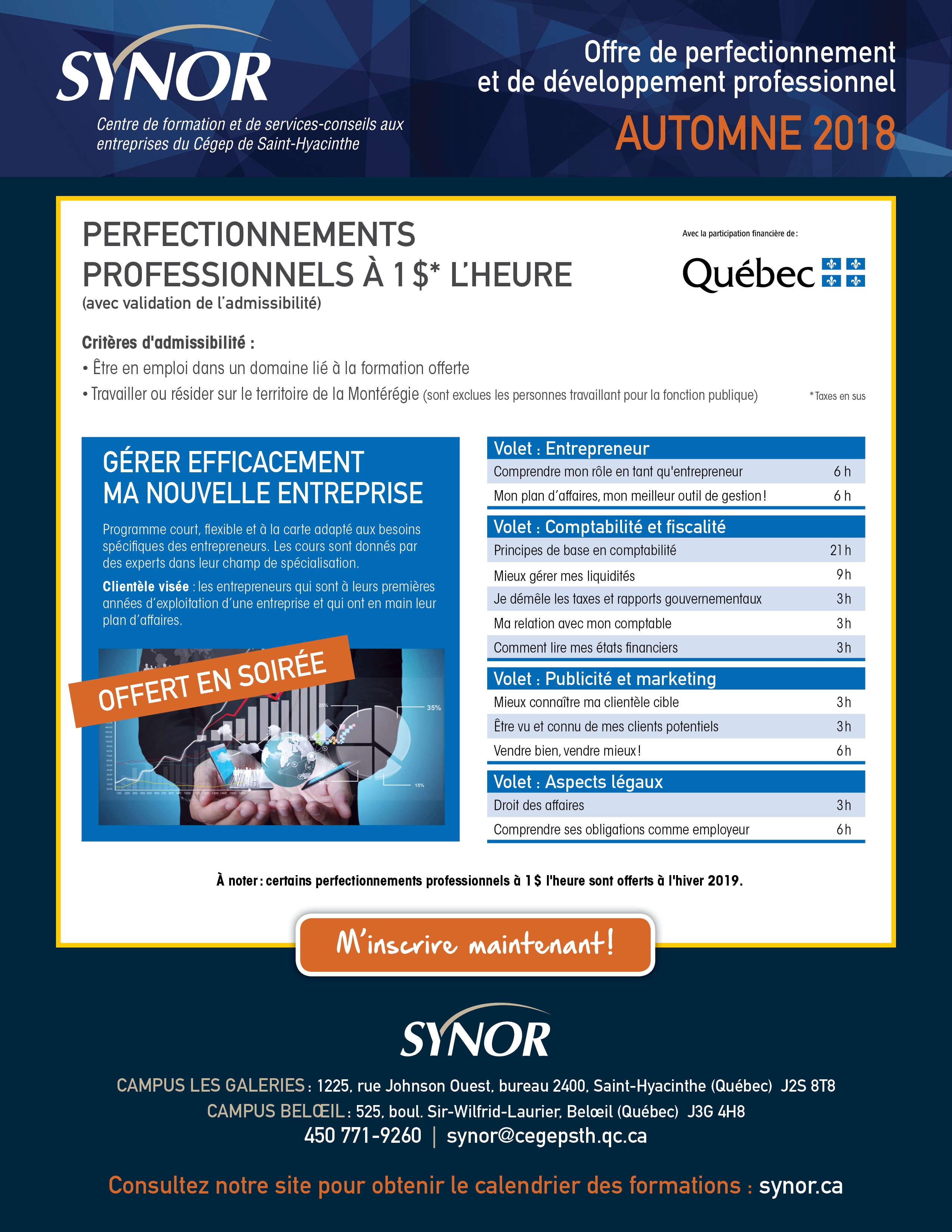 OffreCoursA18 - SYNOR-perfectionnement-entreprise