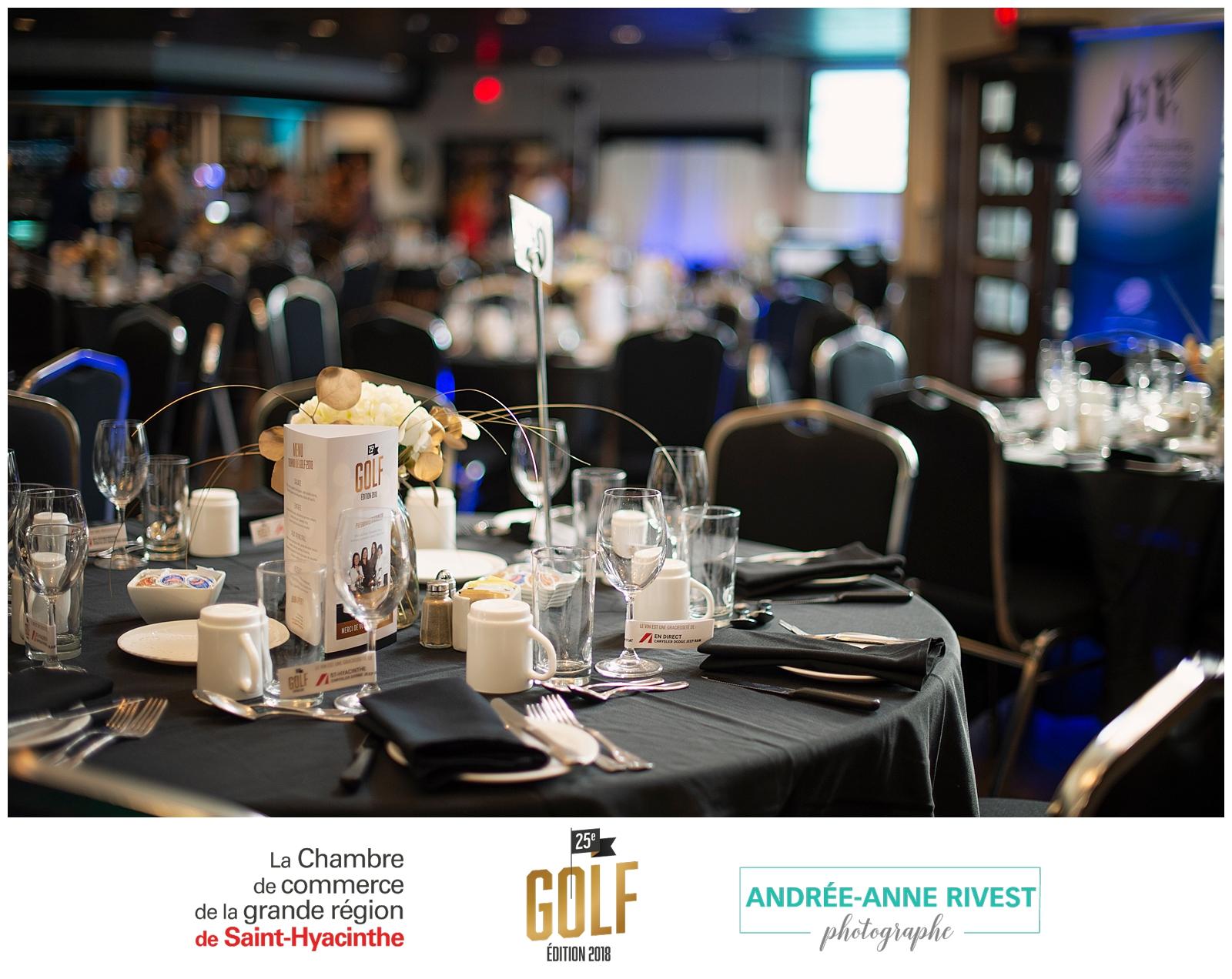 Soirée du Tournoi de golf 2018