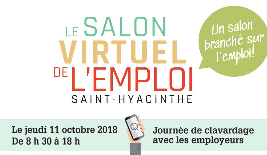 Le Salon virtuel de l'emploi de Saint-Hyacinthe revient pour une 2e année