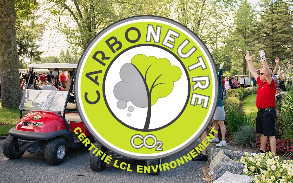 Le tournoi de golf : un événement CARBONEUTRE
