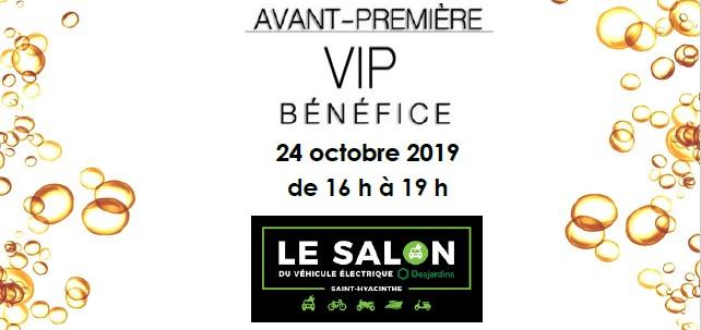 VIP Bénéfice du Salon du véhicule électrique