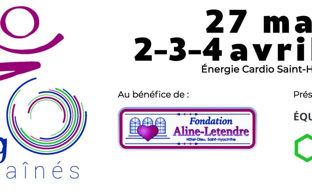 Fondation Aline-Letendre : Défis Spinning pour les aînés réinventés!