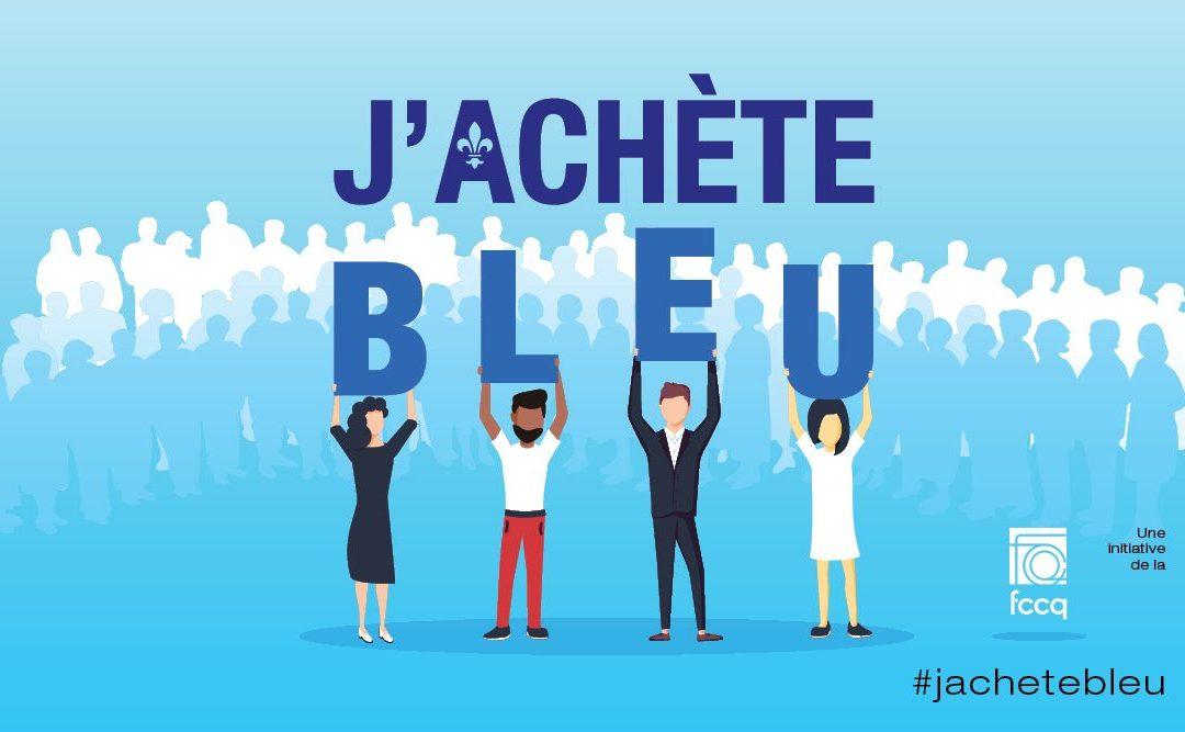Campagne J'achète bleu : #jachetebleu #cavabienaller
