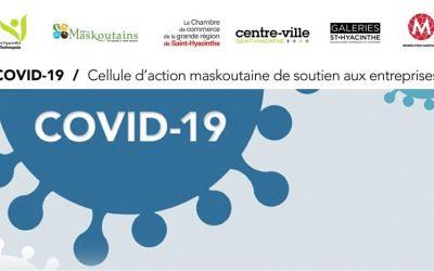 COVID-19 – Mise en place d'un groupe de premiers répondants pour les entreprises du territoire