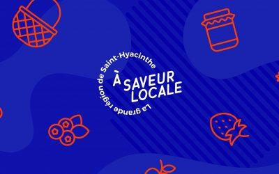 La grande région de Saint-Hyacinthe à saveur locale