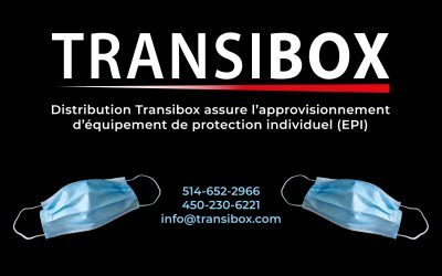 Distribution Transibox assure l'approvisionnement d'équipement de protection individuel