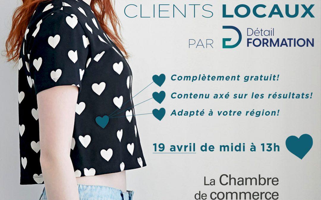 Attirez vos clients locaux par Détail Formation
