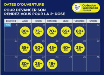 2e dose à la clinique de vaccination Hydro-Québec et Intact